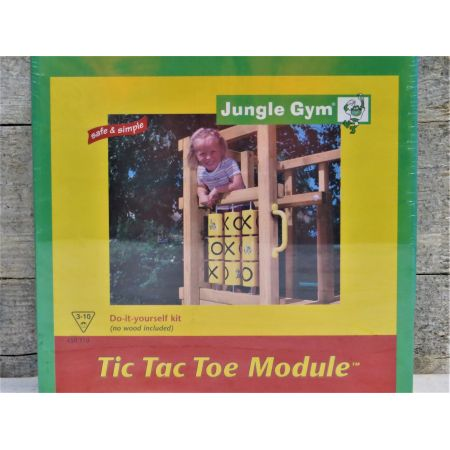 Jungle gym tic tac to module 50% korting